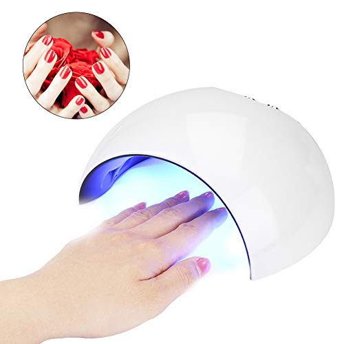 24W Nail Dryer - UV LED Nail Lamp with 3 Timers 60s and 90s and 120s