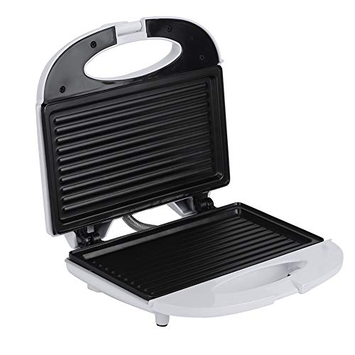 Sandwiches Maker, Multifunctional Fast heating Electric Mini Bread Maker Grill Panini Breakfast Machine Baking Pan US Plug 110V