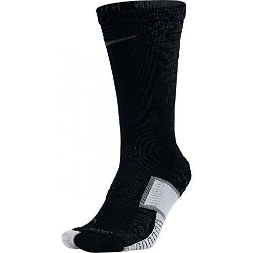 Nike Herren Match Fit Elite Hypervenom Crew Socken, schwarz, Small