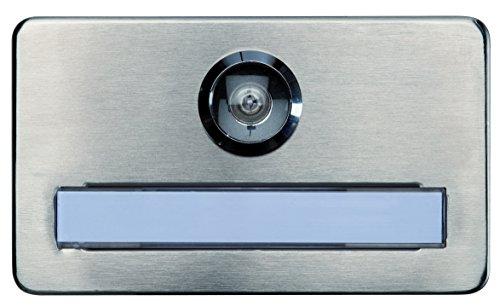 Alpertec 48040610 Namensschild für Türspion vorgerichtet Brandschutz geprüft …