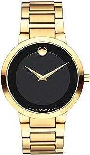 Men's Movado Modern Yellow Gold Bracelet Watch 0607121