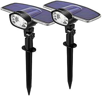 2-Pack Gumglex Solar Landscape Lights