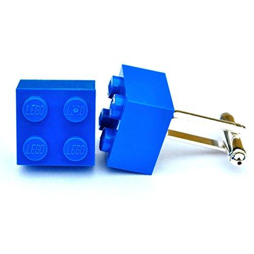 LEGO® Manschettenknöpfe (blau) Hochzeit, Groom, Herren Geschenk