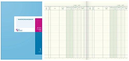 König & Ebhardt 8610641 Bedrijfsboek/Goederen ingangsboek (A4 80g/m2, 40 vel draadtheft)