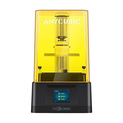 Stampante 3D Anycubic Stampante in resina LCD monocromatica Photon Mono Schermo LCD monocromatico 2K Velocità di stampa rapida con coperchio superiore con blocco UV Grande volume di costruzione