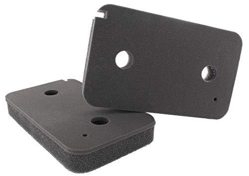 Filtro de espuma compatible con Miele 9499230, 207 x 155 x 30 mm, para secadora con bomba de calor