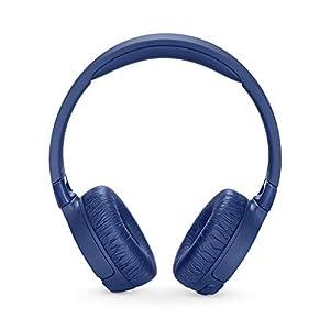 JBL T600BTNC Noise Cancelling, On-Ear, Wireless Bluetooth Headphone, Blue