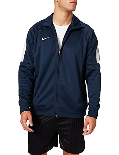 Nike Herren Jacke Team Club Trainer Sweatshirt, Blau (Navy 658683-451), 16-22