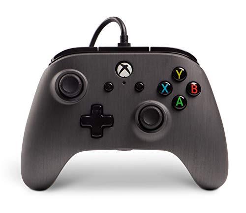 PowerA Erweiterter kabelgebundener -Controller für Xbox One – Gebürstetes Rotguss
