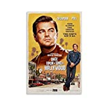 Once upon A Time in Hollywood Vintage Movie Poster HD