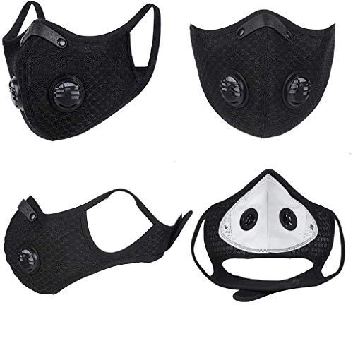 Humeng Unisex Schutzhalsschal Kopfbedeckung für Staub im Freien Sport Made in Germany