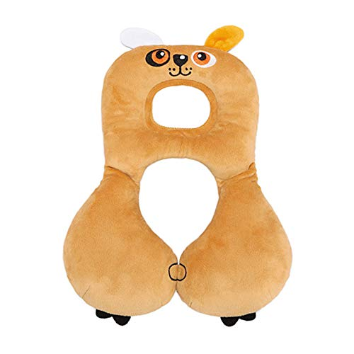 Supporto per collo testa di bambino, cartone Poggiatesta morbido a forma di animale per cuscino da collo a forma di U adorabile (stile4)