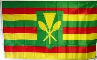 3'x5' KANAKA MAOLI HAWAII FLAG, Hawaiian Sovereignty banner