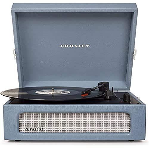 Crosley Voyager - Tocadiscos estéreo, color azul
