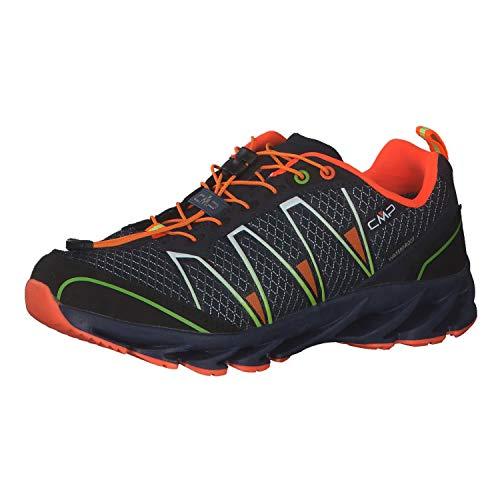 CMP Kinder Trail Running Schuhe Altak WP 2.0 39Q4794J Navy-Mint-Orange Fluo 41