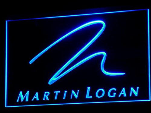 Martin Logan Speaker Audio Home LED Neon Light Sign Man Cave K076-B