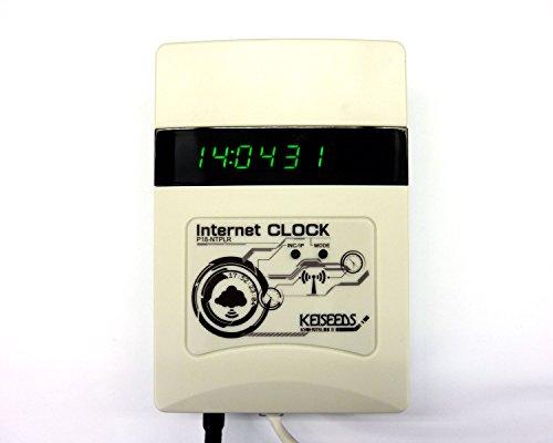 『電波時計信号送信機能付き時計(白) P18-NTPLR』の1枚目の画像
