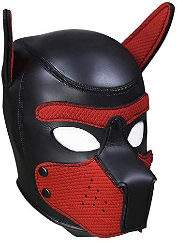 Máscara Cachorro Disfraz de Fiesta Halloween Juego de Roles