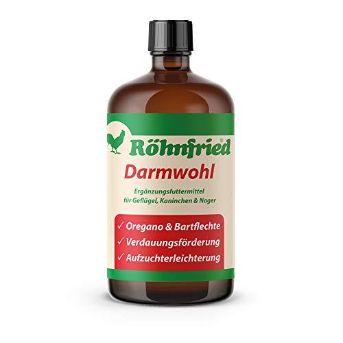 Röhnfried Darmwohl Nahrungsergänzung (250 ml) für Nager, Geflügel & Kleintiere, geförderte Verdauung & erleichterte Aufzucht, mit Oregano & Bartflechte