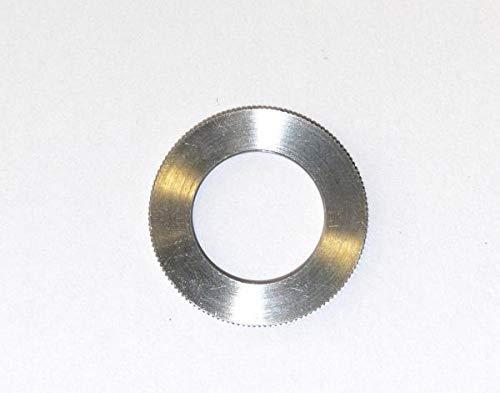 Anello Riduttore 20 x 10 x 2,5mm Zigrinato, Passo H7