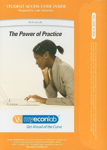 MyEconLab with Pearson eText -- Access Card -- for Principles of Money, Banking and Financial Markets (MyEconLab (Access