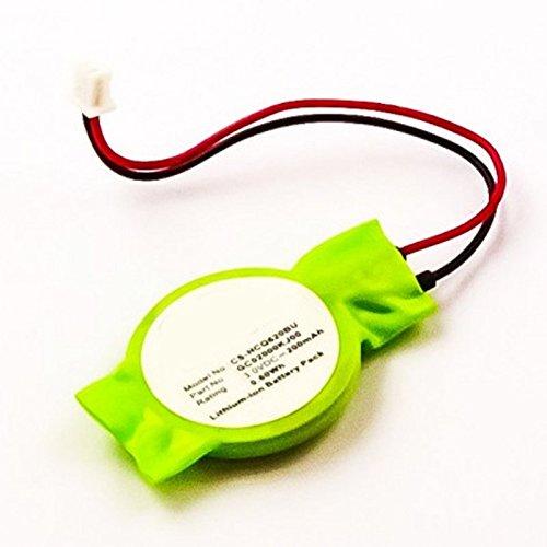 vhbw Batterie Bio Li-ION 200mAh 3.0V U100-1618XP U100-280US Notebook U100-279US Ordinateur Portable MSI Wind U100-1616XP U100-244MY