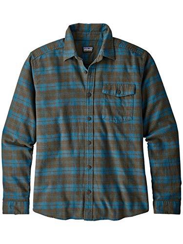 Patagonia M's Sportswear Hemd für Herren XL Herder/Sediment