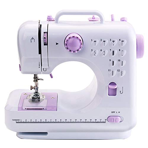 Review Of WANGLXST 12 Stitches Portable Sewing Machine, Household Sewing Tool, 2 Speed Sew Machine, ...