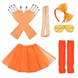 Miayon Kids 6 in 1 Costume Accessories 1970s 1980s...
