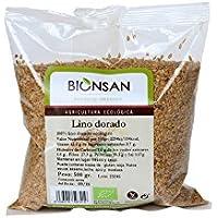 Bionsan Lino Dorado Ecológico - 4 Bolsas de 500 gr - Total: 2000 gr