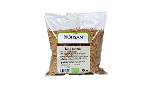 Bionsan Lino Dorado Ecológico - 500 gr