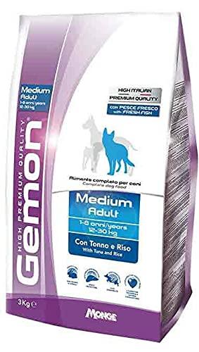 Gemon Adult Medio Tonno E Riso kg. 15