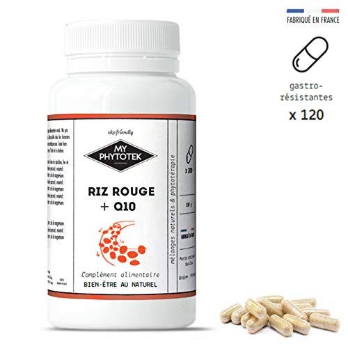 Rode rijst gist + Q10, 120 capsules (630mg)