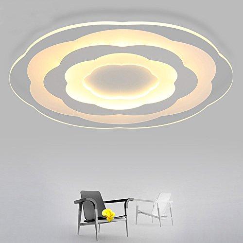 5151BuyWorld Lamp minimalisme, ultralant, wit, modern licht voor LED, plafondlamp, woonkamer, keuken, slaapkamer, badkamer, plafond, binnenverlichting, hoogwaardige kwaliteit