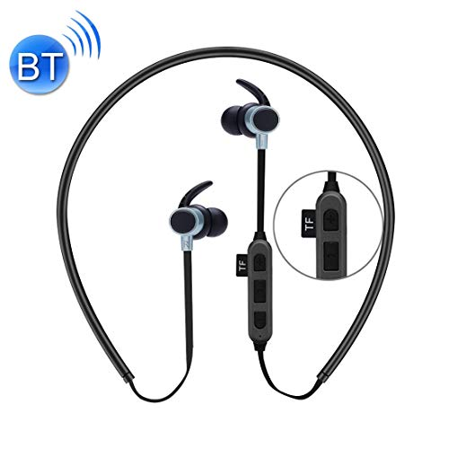 Noise Cancelling koptelefoon Sunyifan ST-K3 draadloze magnetische oordopjes Bluetooth Sport Stereo MP3-hoofdtelefoon met microfoon & TF-kaartsleuf voor iPhone, Galaxy, Huawei, Xiaomi, LG, HTC en andere intelligent, roze goud