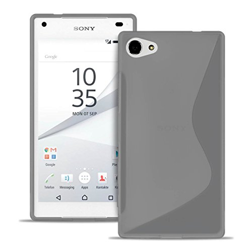 United Case Housse De Protection pour Téléphone Portable S-Line pour Sony Xperia Z5 Compact
