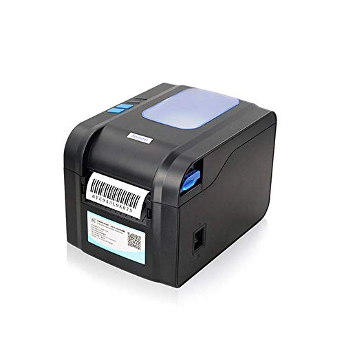 CIJK Thermal Label Printer, Desktop Label Printer USB Direct High Speed Labeling Machines Label Maker for 4X6 Shipping Labels Barcode Compatible with Windows (XP And Later)