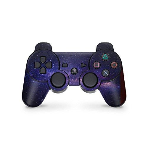 Skins4u Skin Design Sticker Aufkleber Set kompatibel mit Playstation 3 PS3 Gamepad - Milky Way