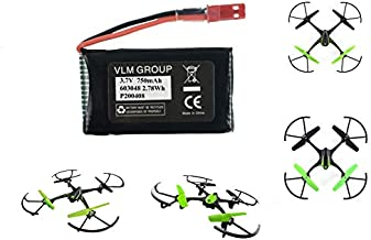 Sky Viper S1700 S1750 V2400HD V2450FPV V2450GPS Scout Journey Drones Compatible Battery 3.7v 750mAh High Capasity