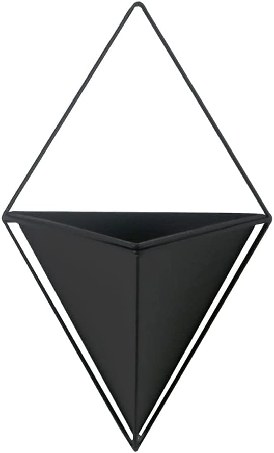 Hanging Planters Triangle Metal Cheap Plan Geometric Planter Wall Max 66% OFF