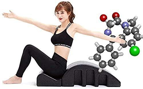 HongLianRiven Arc-Massage-Bett, Pilates Yoga-Keil-Spine Corrector Barrel Spine Yoga Ausrüstung Back Pain Relief Ausdauertraining 8-11