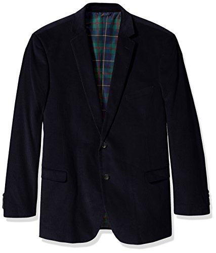 U.S. Polo Assn. Men's Big-Tall Big and Tall Corduroy Sport Coat, Navy, 58 Long