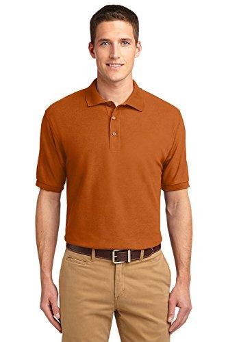 Port Authority® Silk Touch™ Polo. K500 Texas Orange 3XL