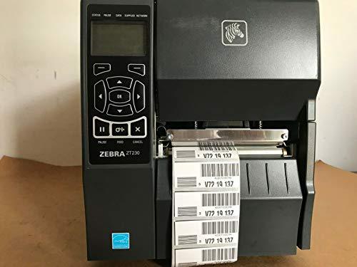 Zebra ZT230 - Impresora de Etiquetas (Térmica Directa, 203 x 203 dpi, 152 mm/seg, 10.4 cm, Negro,...