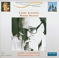 ベートーヴェン:ピアノ協奏曲第1番, 第2番, 第4番(アファナシエフ/ザルツブルク・モーツァルテウム管/スダーン)