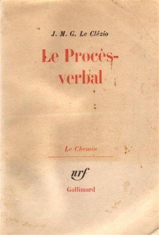Le proces verbal