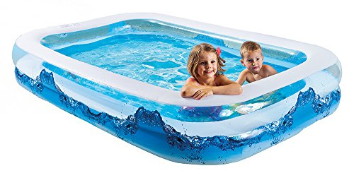 Happy People 18102 Wehncke, Piscina Jumbo Water Wave, Blu