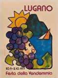 Lugano 1977 Poster – Format 50 x 70 cm Papier Luxe 300 GR