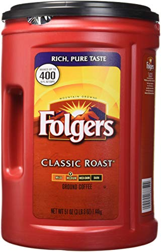 Folgers Coffee, Classic(Medium) Roast, 51 Ounce