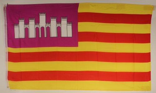 Flagge Fahne ca. 90x150 cm : Balearen Mallorca Ibiza Menorca